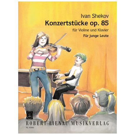 Shekov, I.: Konzertstücke Op. 85 – Für junge Leute