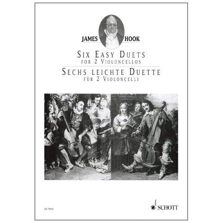 Hook, J.: 6 leichte Duette Op. 58
