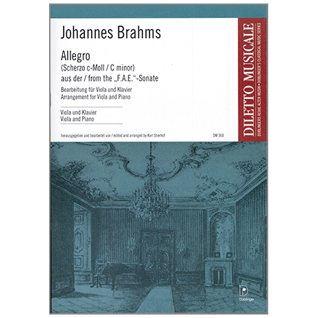 Brahms, J.: Scherzo aus der »F.A.E.«-Sonate WoO 2 c-Moll
