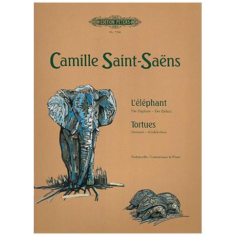 Saint-Saens, C.: L´elephant, Tortues