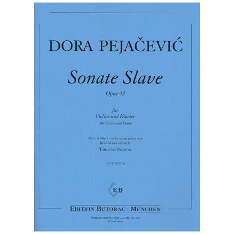Pejacevic, D.: Violinsonate Slave Op. 43