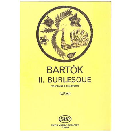 Bartók, B.: Burleske Nr. 2