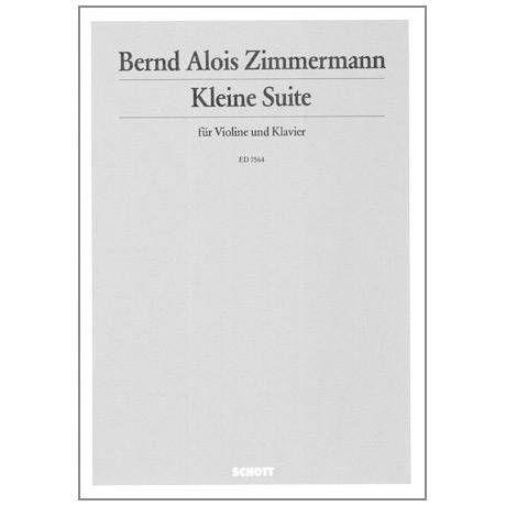 Zimmermann, B. A.: Kleine Suite