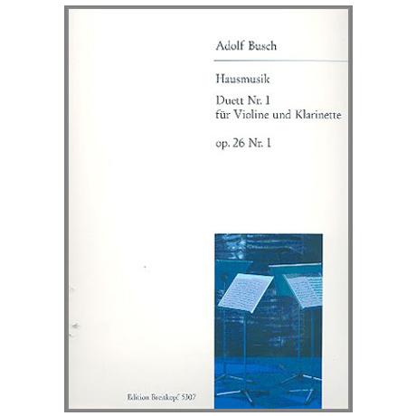 Busch, A.: Duett Nr.1 op.26,1