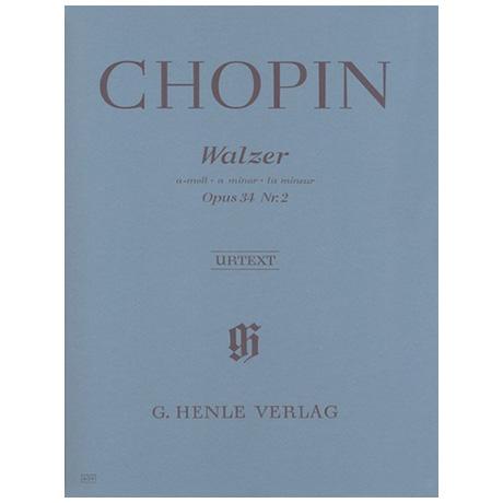 Chopin, F.: Walzer a-Moll Op. 34,2