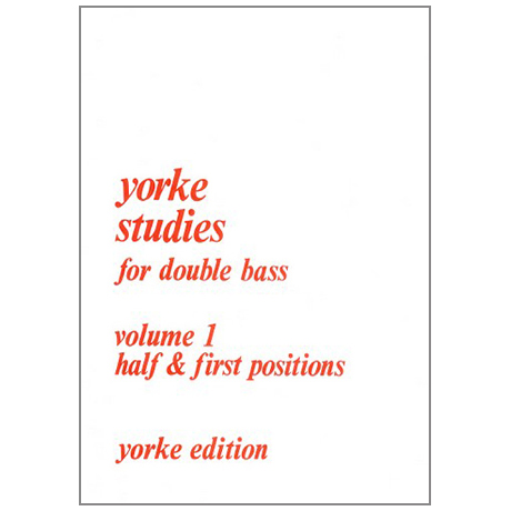 Yorke Studies for double bass Vol.1
