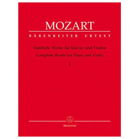 Mozart, W.A.: Sämtliche Werke - Band 1