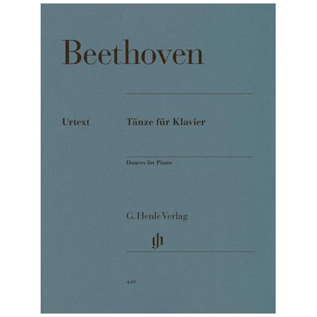 Beethoven, L. v.: Tänze für Klavier