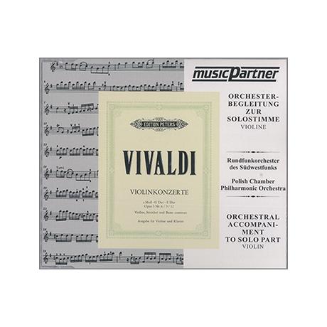 Vivaldi, A.: 3 Violinkonzerte a-moll, E-Dur, G-Dur Compact-Disc CD