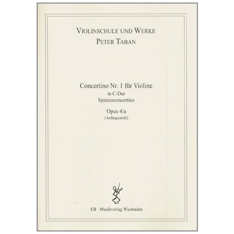 Taban, P.: Op. 4/a: Concertino Nr. 1 C-Dur