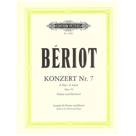Beriot, L.: Violinkonzert Nr. 2 G-Dur, op. 76