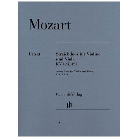 Mozart, W. A.: 2 Streichduos KV 423, KV 424