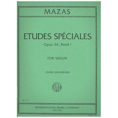 Mazas, J.F.: Etudes Speciales Op.36/1