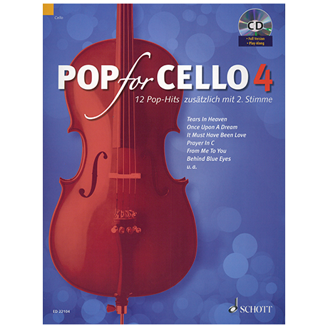 Pop for Cello 4 (+CD)