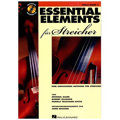 Allen, Michael: Essential elements für Streicher (+CD)