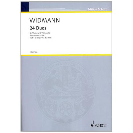 Widmann, J.: 24 Duos - Band 1