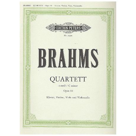 Brahms, J.: Klavierquartett Nr. 3 c-moll, op. 60