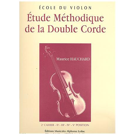 Hauchard, M.: Étude méthodique de la double corde Band 2