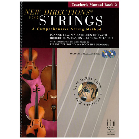 New Directions for Strings - Teacher's Manual Book 2 (+CD)