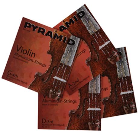 PYRAMID Alu Violinsaiten SATZ