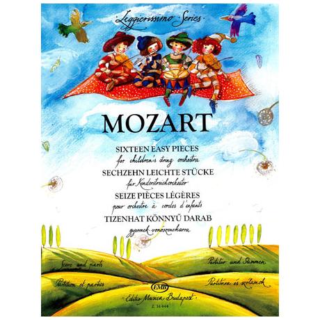 Leggierissimo - Mozart: Sechzehn leichte Stücke