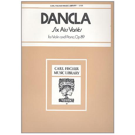 Dancla, Ch.: 6 Airs Variés Op. 89