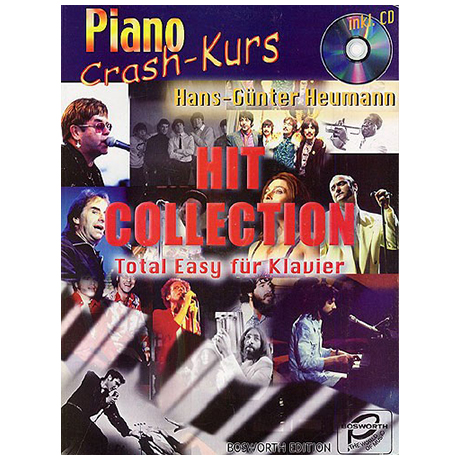 Heumann, H.-G.: Piano Crash-Kurs - Hit Collection (+CD)