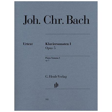 Bach, J. Chr.: Klaviersonaten I Op. 5