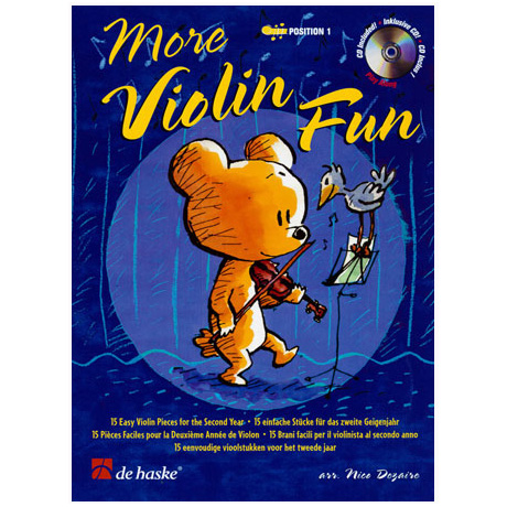 Goedhart, D.: More Violin Fun (+CD)