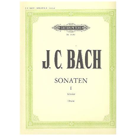 Bach, J.Chr. (1735-1782): 10 ausgewählte Sonaten Band I