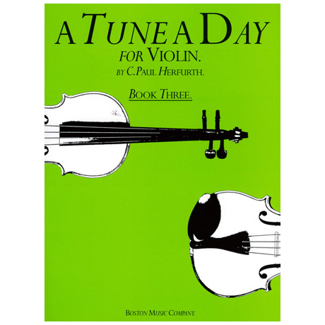Herfurth, C.Paul: A Tune a day Vol.3