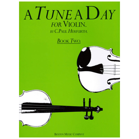Herfurth, C.P.: A Tune a day Vol.2