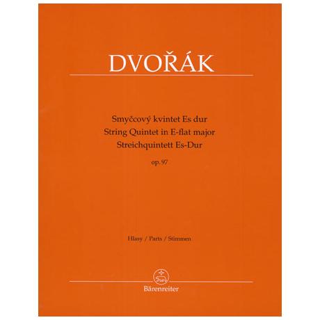 Dvořák, A.: Streichquintett Op.97 Es-Dur