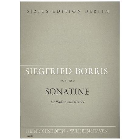 Borris, S.: Sonatine Op.65/2