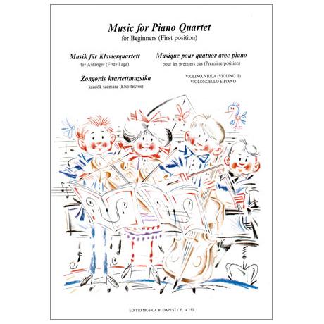 Musik für Anfänger - Musik für Klavierquartett