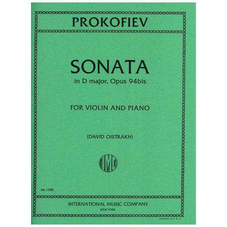 Prokofjew, S.: Sonate in D-Dur Op.94a (Oistrach)