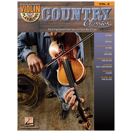 Violin Play-Along Vol.8: Country Classics (+CD)