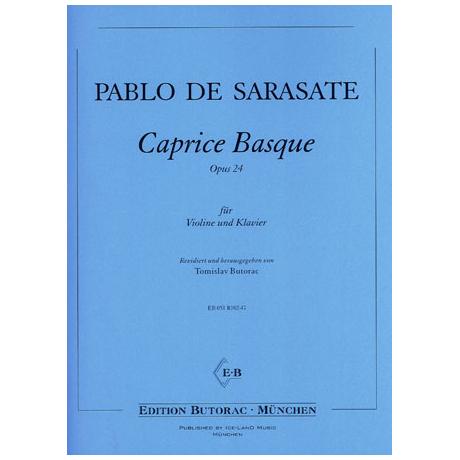 Sarasate, P.d.: Caprice Basque op. 24
