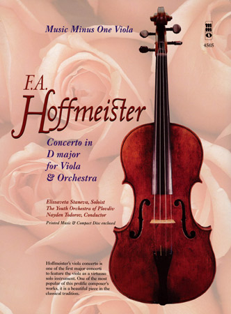 Hoffmeister: Konzert D-Dur (+CD)