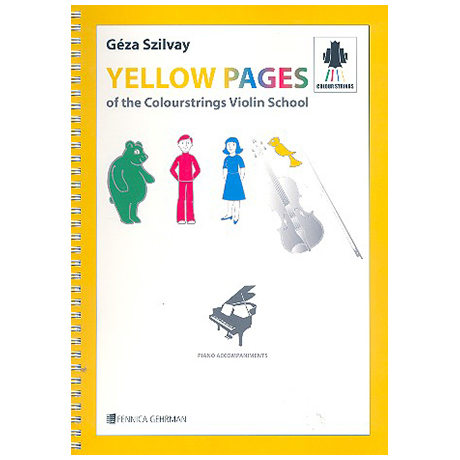 Yellow Pages Of the Colourstrings Violin School 1-3