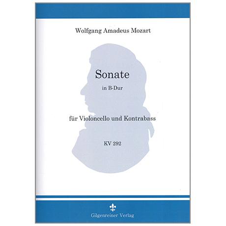 Mozart, W.A.: Sonate KV292 B-Dur