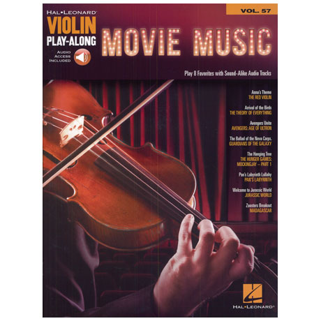 Movie Music – Violin Play Along 57 (+Online Audio)