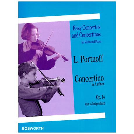 Portnoff, L.: Concertino Op. 14 a-Moll