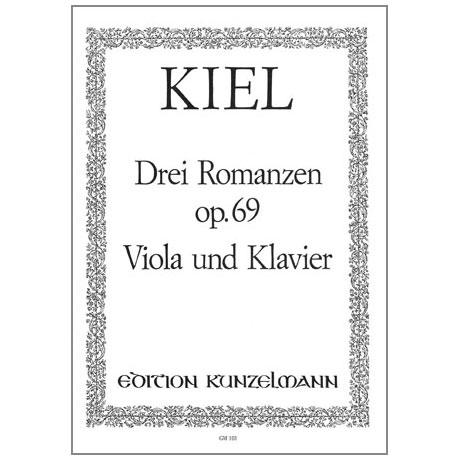 Kiel, F.: 3 Romanzen Op.69
