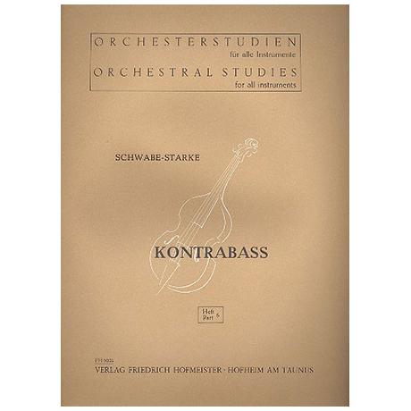 Schwabe; Starke: Orchesterstudien Band 6 - Wagner (Lohengrin, Holländer, Rheingold)