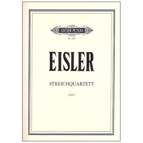 Eisler, H.: Streichquartett op. 75, Stimmen