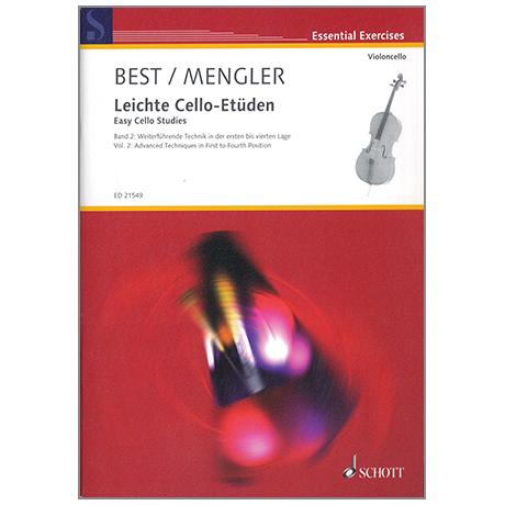 Best / Mengler: Leichte Cello-Etüden Band 2