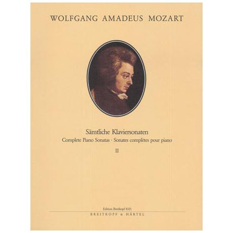 Mozart, W. A.: Klaviersonaten Band II Nr. 11-19