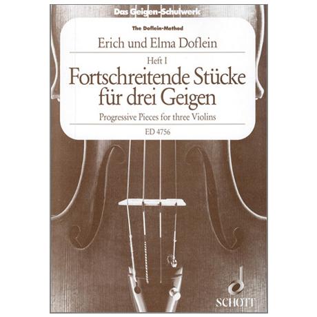Doflein: Das Geigen-Schulwerk Triobuch Band 1