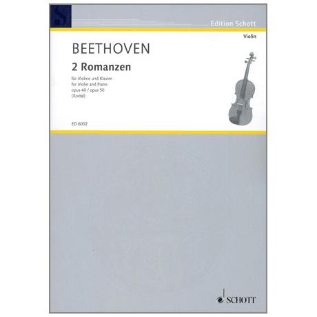 Beethoven, L.v.: 2 Romanzen Op.40/50